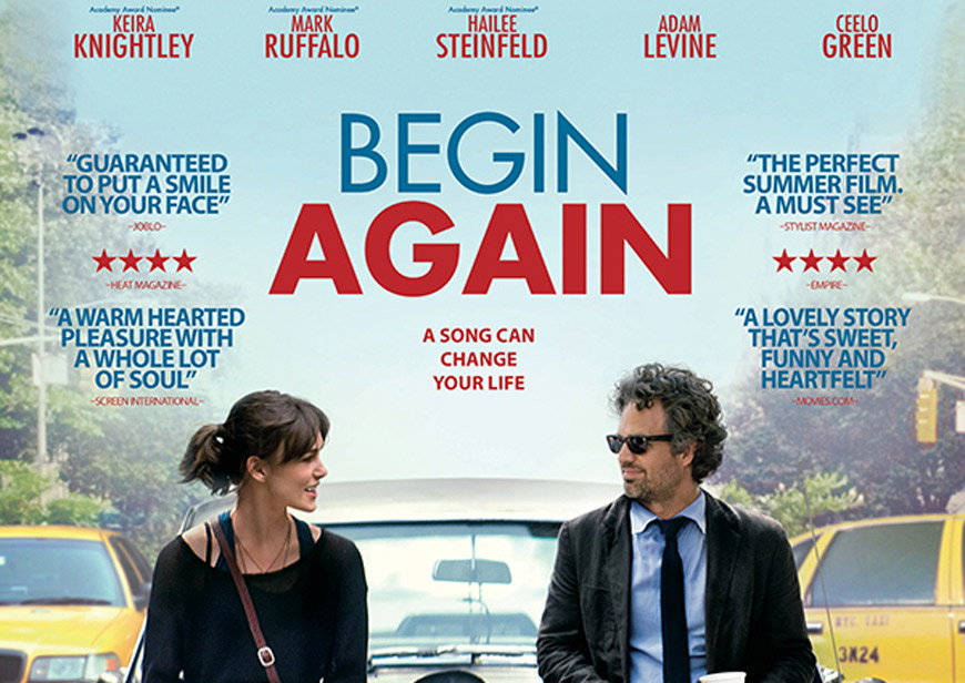 Begin Again. De la capat!