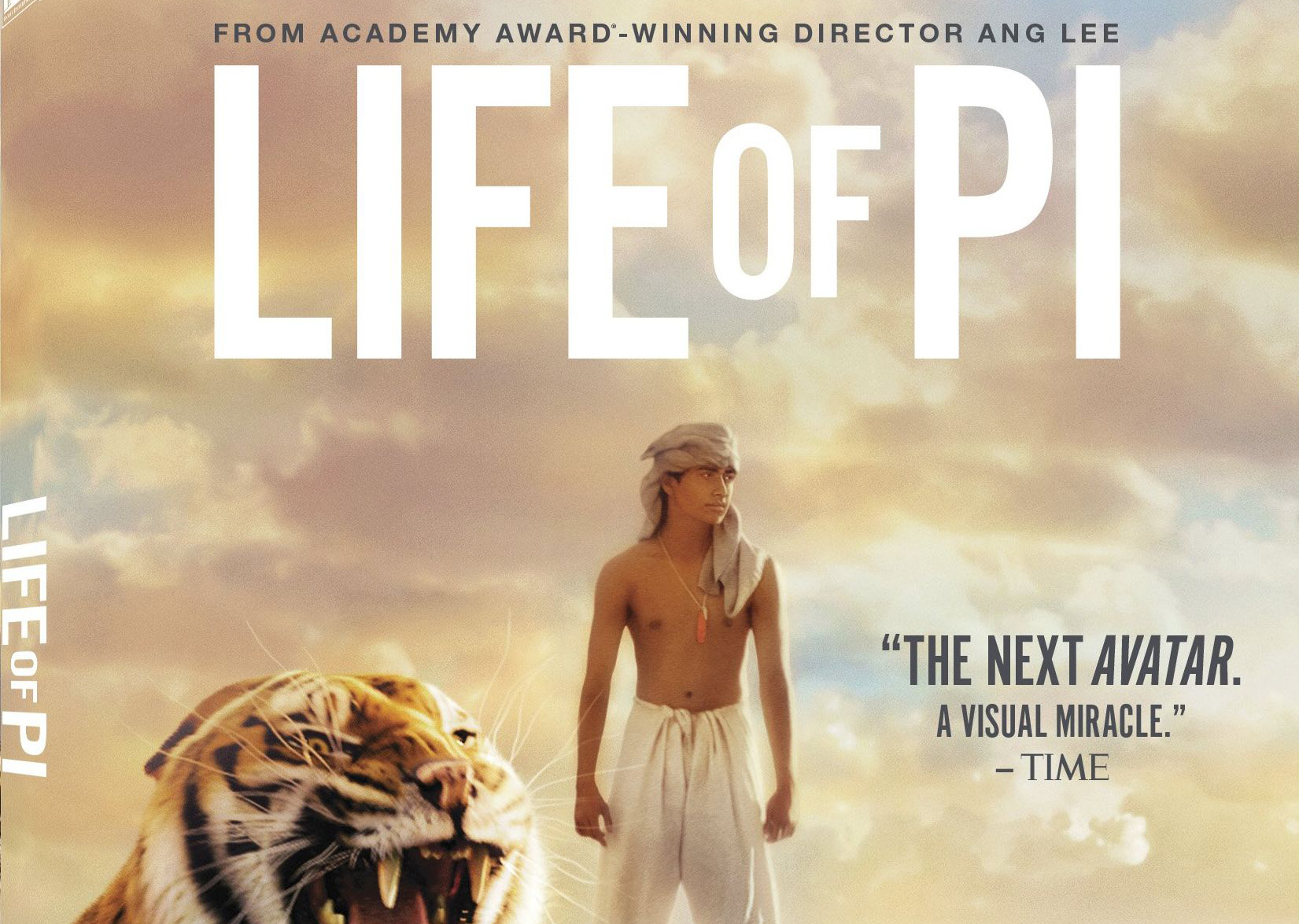 Life of Pi. Pirfect! :)