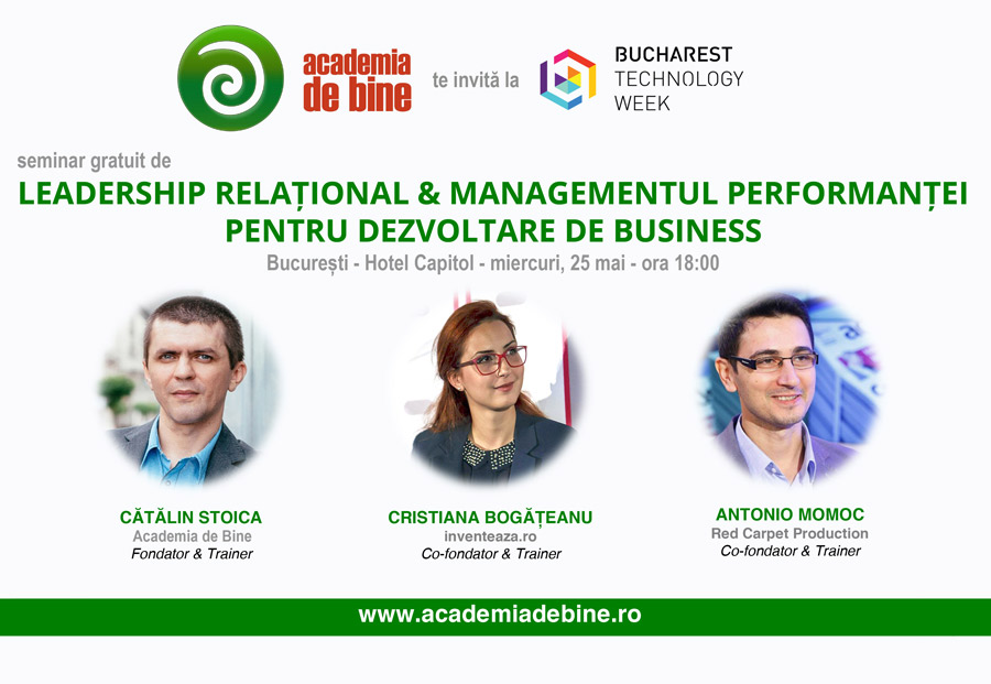 Leadership Relational & Managementul Performantei