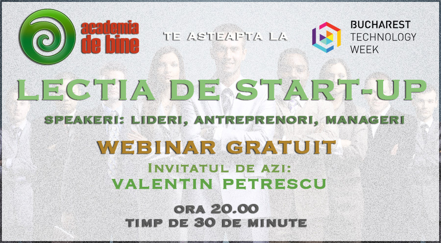 Sincer si la obiect. Lectia de Start-Up 5